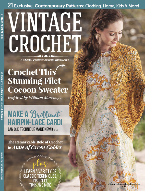 Vintage Crochet 2016 cover