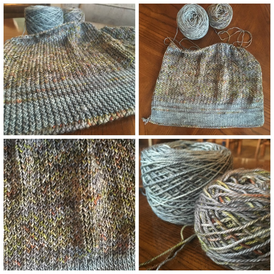 My in-progress Murray Pullover is so beautiful!