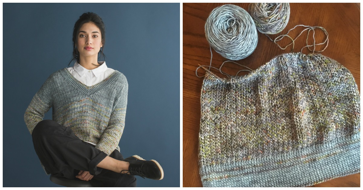 The Murray Pullover is a great first sweater pattern for confident knitters!