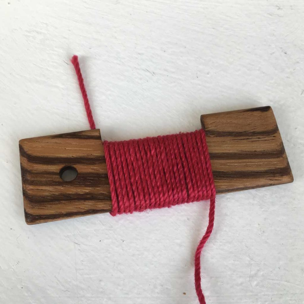 yarn weight can be determined using a WPI tool