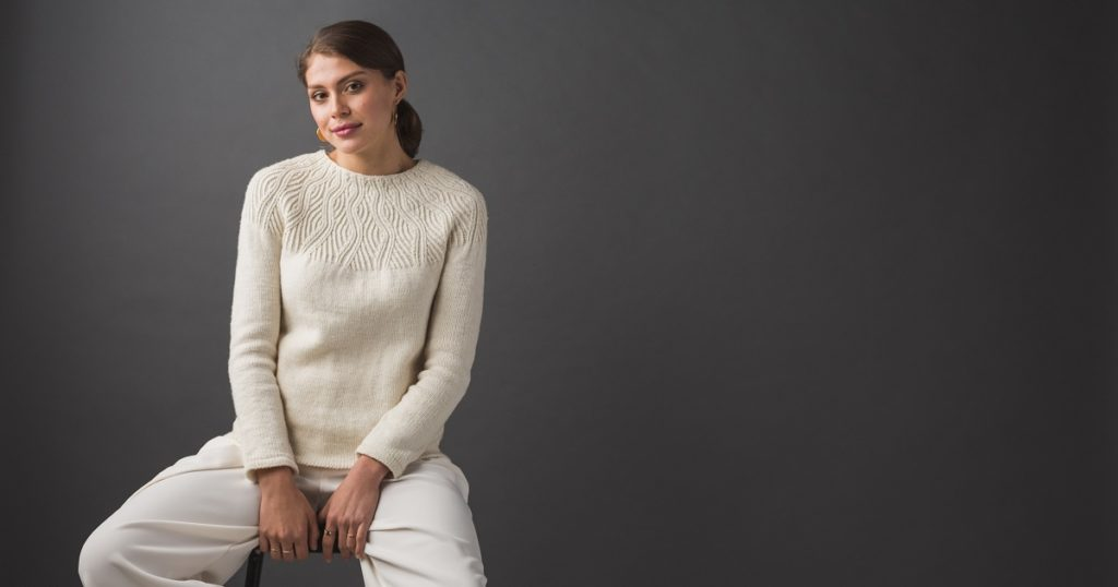 Pattern of the Week: Undulating Lines Sweater