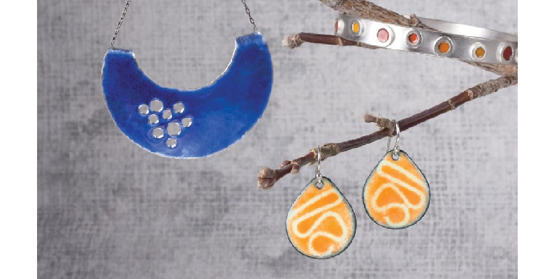 Making Enameled Jewelry: Champlevé, Cloisonné, and Other Kiln and Torch Enameling Techniques