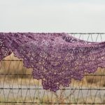 Wednesday WIP: Ghost Ranch Shawlette