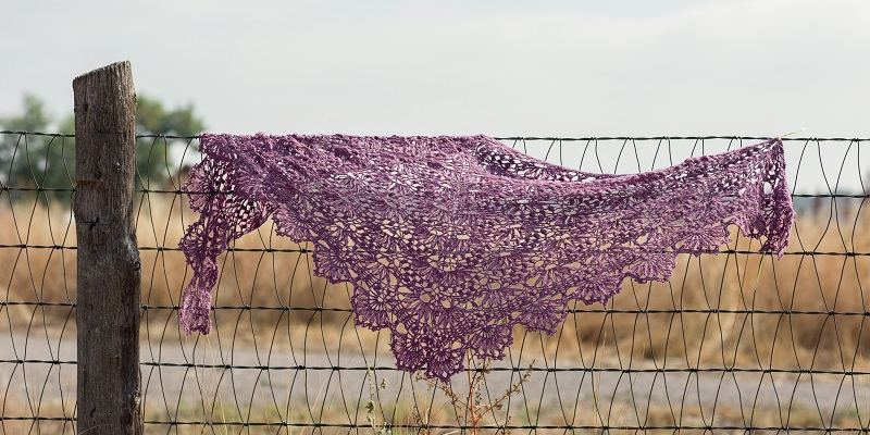 POW: The Water Lily Shawl