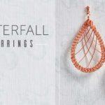 <i>Kumihimo Wirework Made Easy:</i> Waterfall Earrings