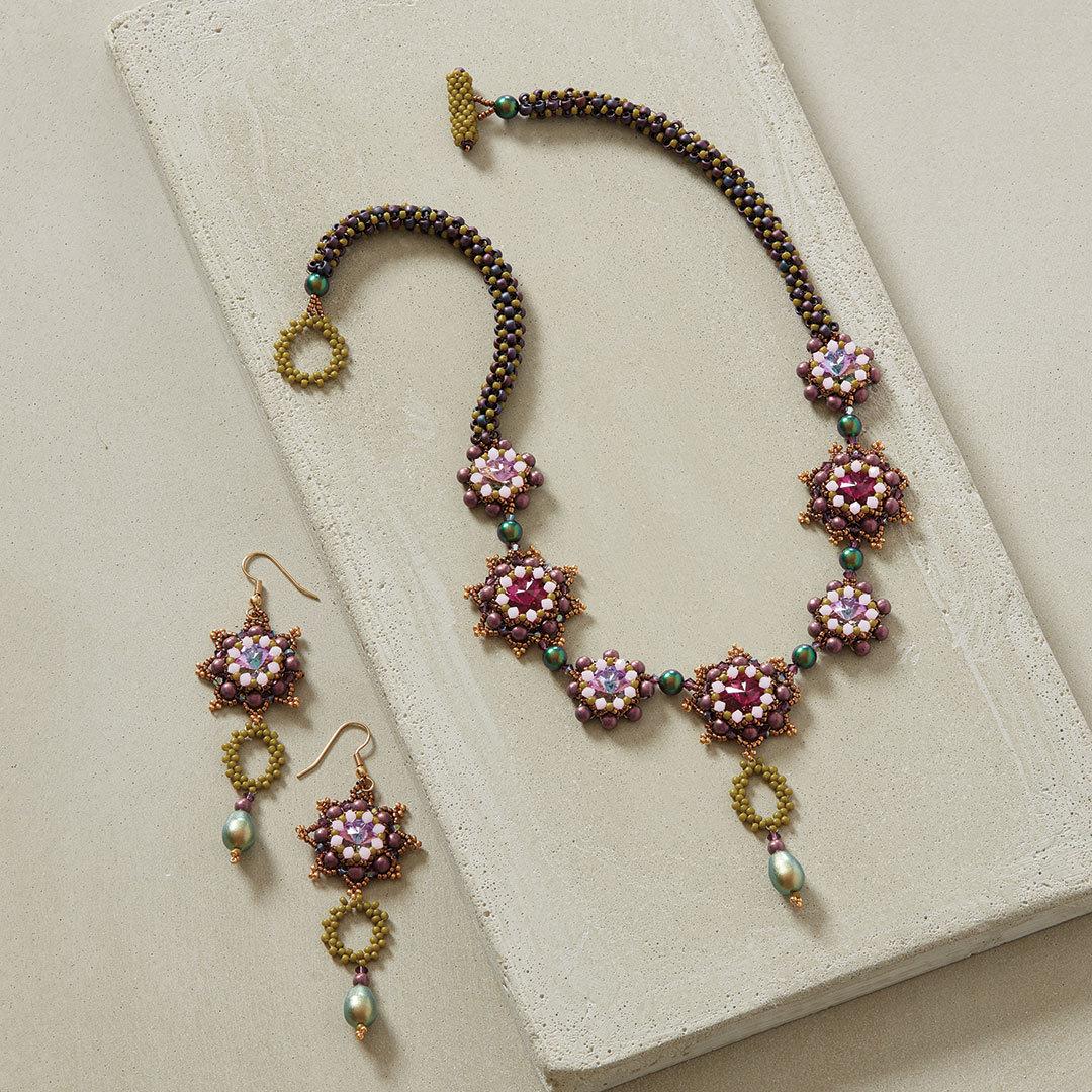 Agnieszka Watts' Autumn Sage Necklace