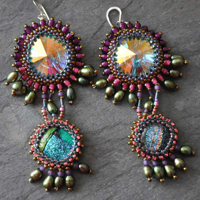 Q&A with Beadweaving Expert and Beadwork Designer of the Year Agnieszka Watts