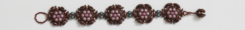 Alternate Colorway Information for Agnieszka Watts's Gardens of Eden Bracelet Pattern
