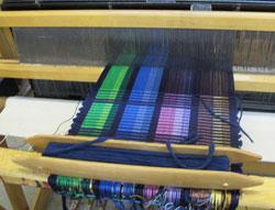 Rep weave project on the loom