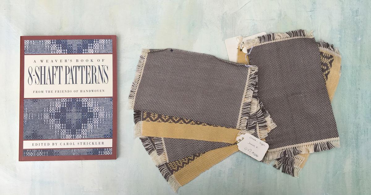 8-Shaft-Weaving-Patterns
