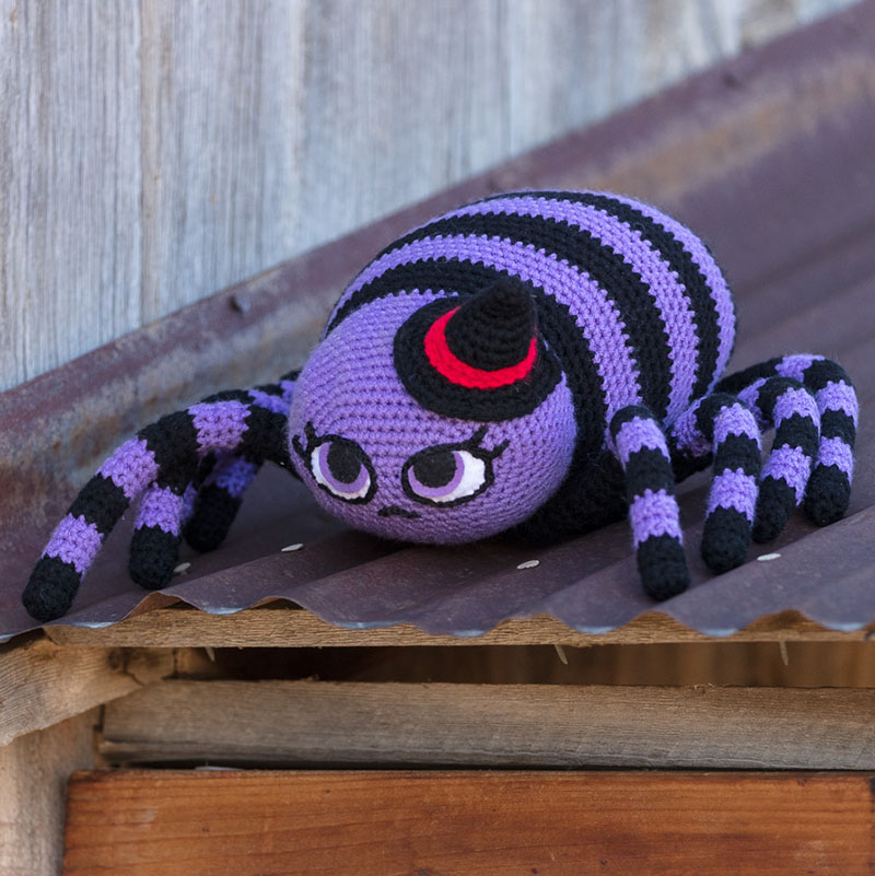 A sweet, yet sinister, spider. Photo by George Boe.