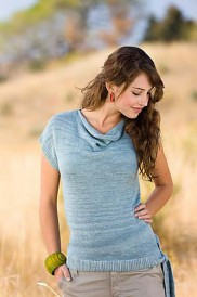 Chiton Pullover, Knit tops for summer knitting