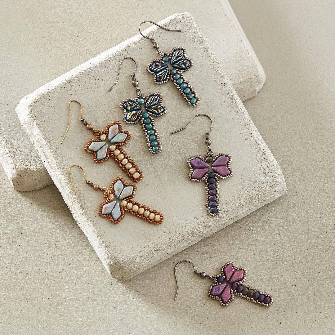Kim West's Dancing Dragonfly Earrings