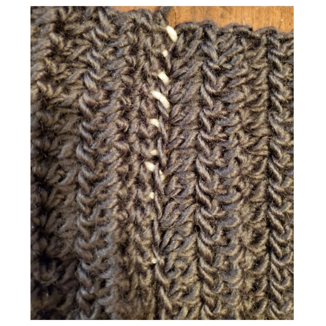 whipstitch seaming crochet