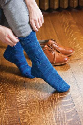 Windmill Socks to Knit, Mimi Seyferth