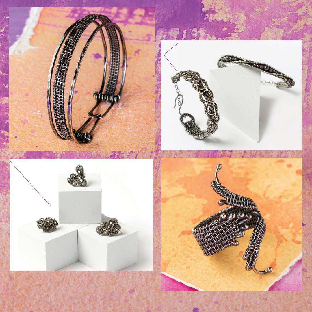 wire weaving projects with Sarah Thompson