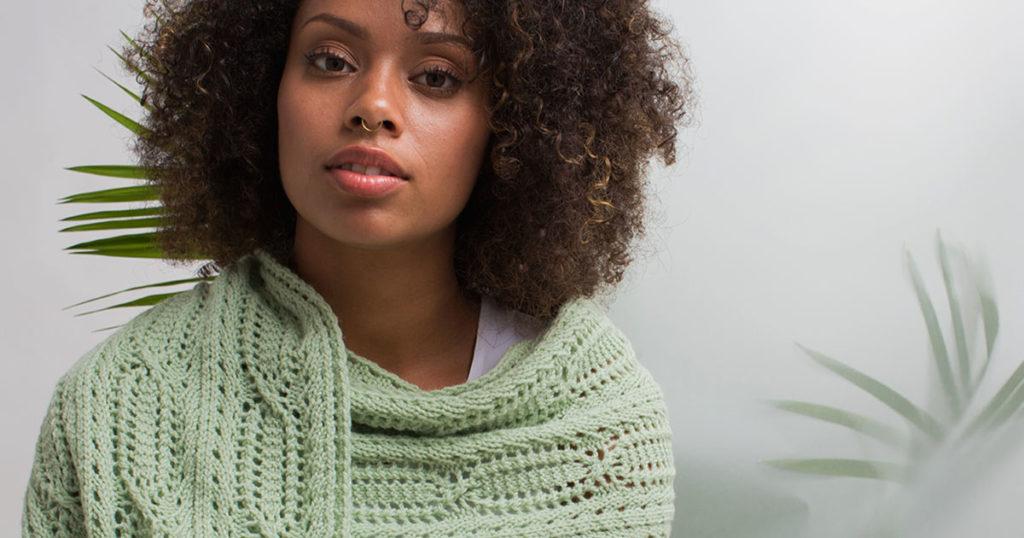 <em>knit.wear</em> Spring/Summer 2018: Wisteria Stole