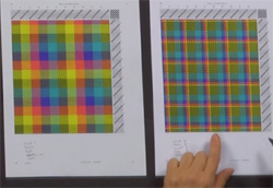 """Good color and design choices add """"Wow"""" to this plaid"""