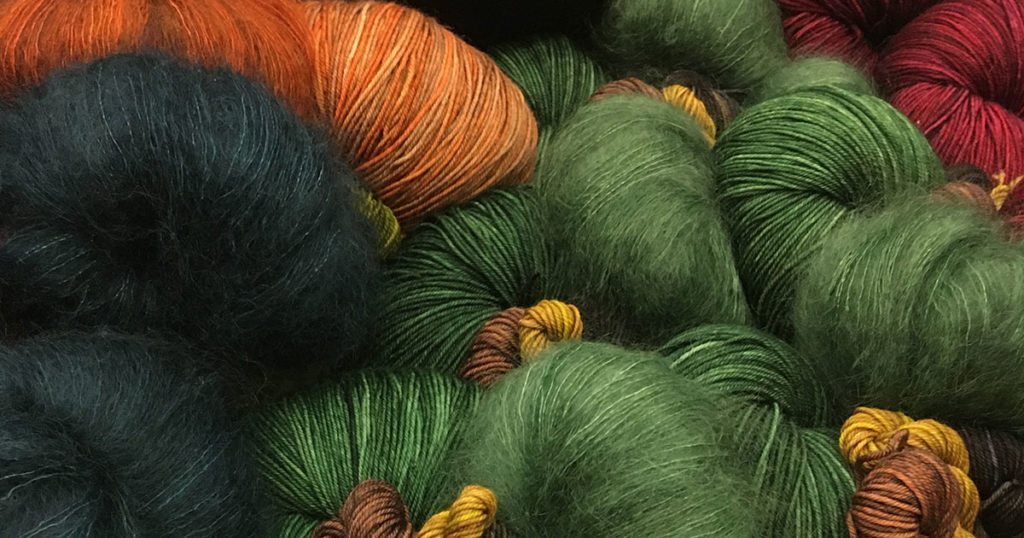 Looking forward to Interweave Yarn Fest 2018? So are we!