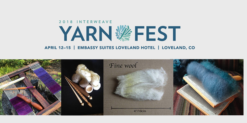 The 5 Ways to Spin Interweave Yarn Fest