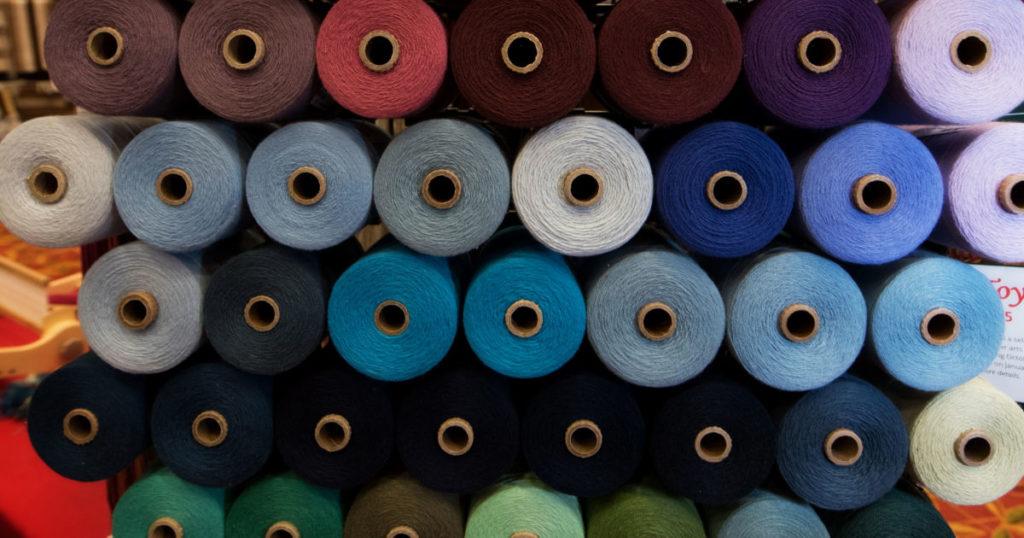 Interweave Yarn Fest: It's Like Spring Break for Weavers