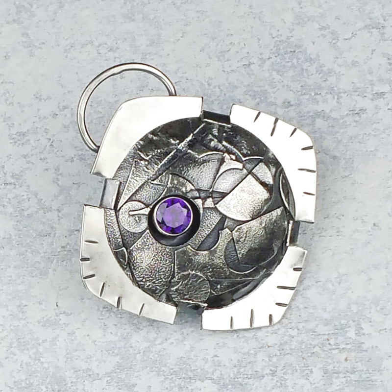 Metalsmithing design by Gwen Youngblood
