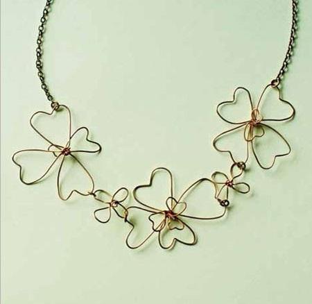 Alice Garfield's Abstract Sakura Necklace