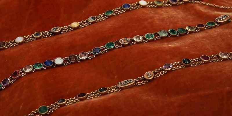 The Language of Gemstones: Acrostic Gemstone Jewelry Says It All