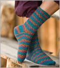 Adirondack Socks Crochet Pattern.