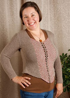 Knitting Gallery - Ahlstrom Bodice Amy