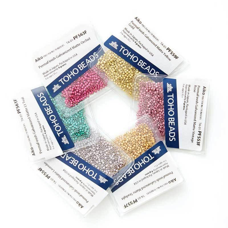 Aiko beads Toho beading supplies from ArtBeads
