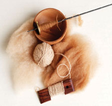 Learn everything you need to know about spinning alpaca yarn techniques in this exclusive free ebook.