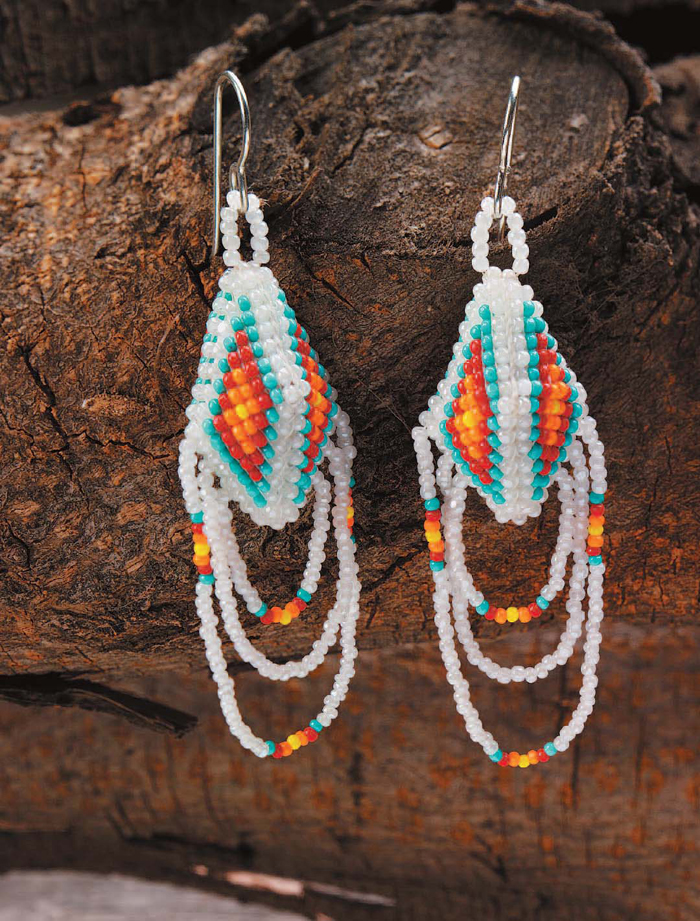 Native American Beadwork 4 Free Beading Patterns Interweave