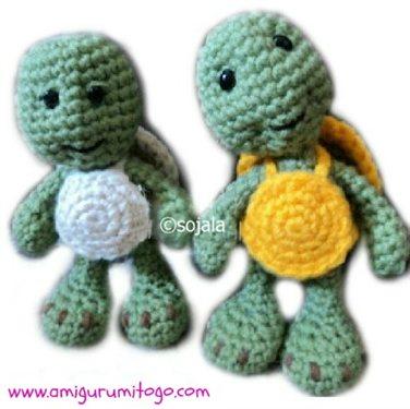 Free Turtle Crochet Pattern Amigurumi Interweave