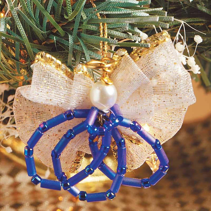 Angle Beaded Ornaments, Handmade beaded ornaments