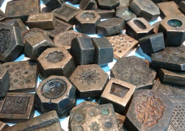 antique brass molds