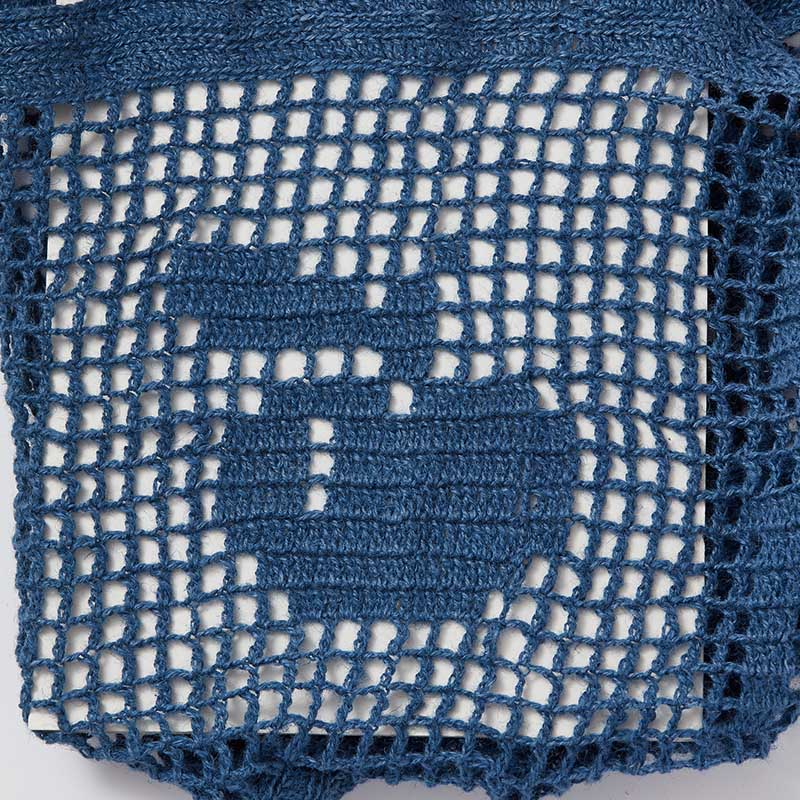 Practice Filet Crochet with This Cute Market Bag Kit! | Interweave
