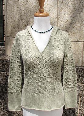 Knitting Gallery - Apres Surf Hoodie Bertha