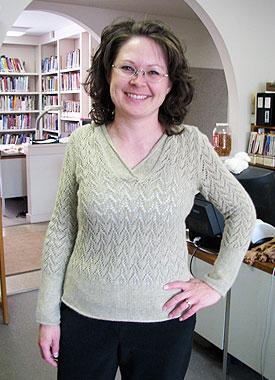 Knitting Gallery - Apres Surf Hoodie Debbie