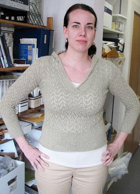 Knitting Gallery - Apres Surf Hoodie Erin