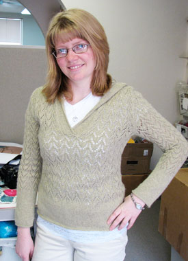 Knitting Gallery - Apres Surf Hoodie Toni