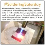 Tips for Heating Argentium for Fusing, Soldering or Annealing