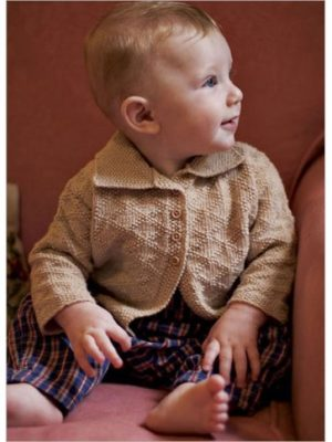 Diamond-Seed Baby Jacket Pattern