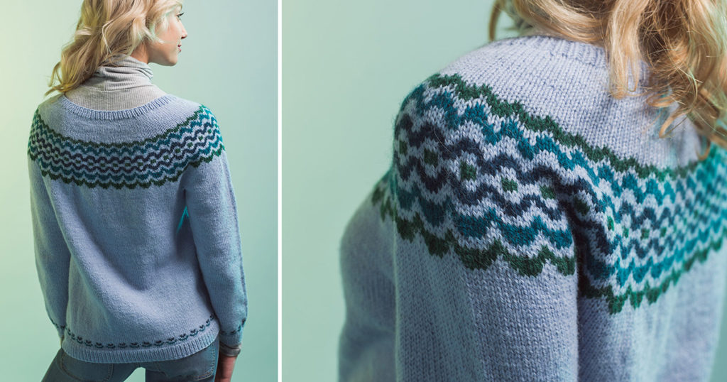 Pattern of the Week: Backshore Pullover
