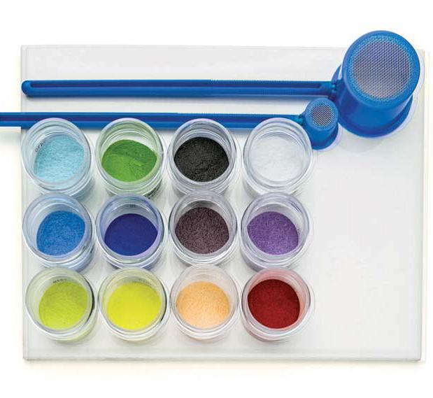 Ball enamel powders