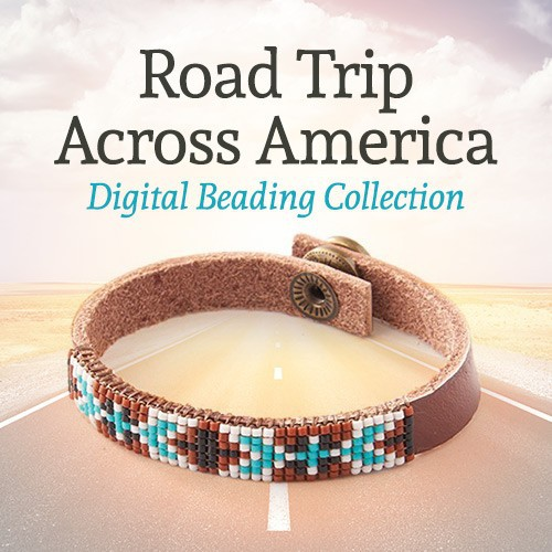The Road Trip Across America Collection of beaded jewelry