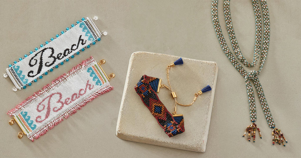 Bead Looming Projects from June/July 2019 <em>Beadwork</em>