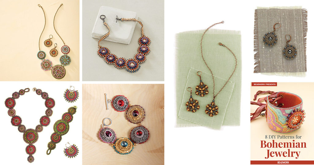 beaded mandala jewelry projects