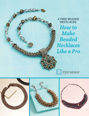 Learn how to make beaded necklaces like a pro in this FREE eBook that contains 4 free projects.