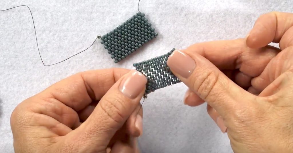 beadweaving basics tension: Maintaining proper tension is one of the keys to beading success.